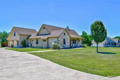 Burnet Single Family Home For Sale: 109 Wranglers Way