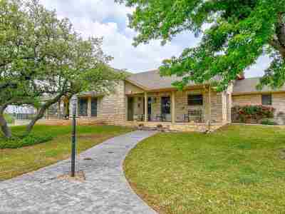 Burnet Single Family Home For Sale: 1018 Fox Run