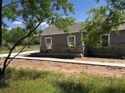 Granite Shoals Single Family Home For Sale: 153 W Cottonwood