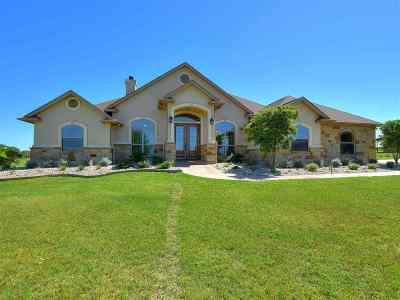 Burnet Single Family Home Pending-Taking Backups: 309 First Down Dash