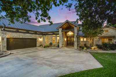 Burnet County Single Family Home For Sale: 106 Meadow Bend