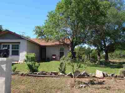 Granite Shoals Single Family Home For Sale: 220 Cedarhill