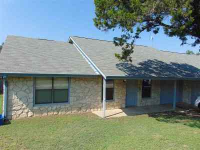 Marble Falls TX Rental For Rent: $1,250