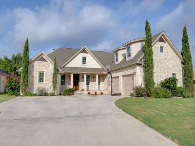 Burnet County Single Family Home For Sale: 423 St. Andrews