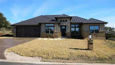 Horseshoe Bay W Single Family Home For Sale: 1415 Cats Eye