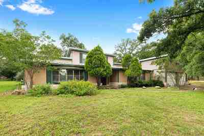 Burnet County Single Family Home For Sale: 650 Cypress