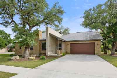 Burnet Single Family Home For Sale: 103 Double Cir