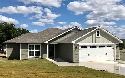 Burnet TX Single Family Home For Sale: $233,900