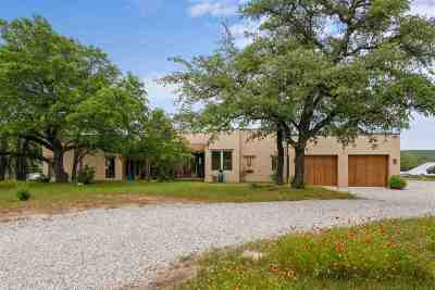Spicewood Single Family Home For Sale: 478 Live Oak Lane