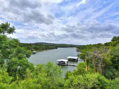 Marble Falls Single Family Home For Sale: 3609 Peninsular