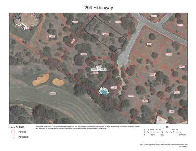 Horseshoe Bay Residential Lots & Land For Sale: Lot 17012-B Hideaway