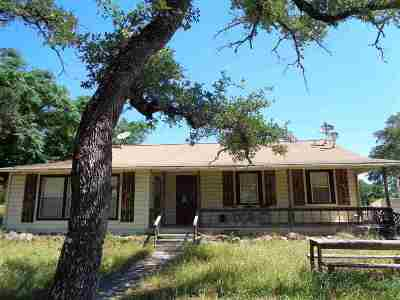 Burnet TX Single Family Home For Sale: $195,000