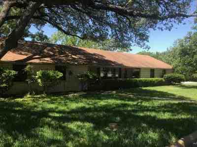 Burnet Single Family Home Pending-Taking Backups: 1301 Wofford
