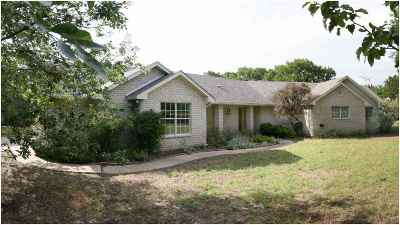 Lampasas County Single Family Home Pending-Taking Backups: 4088 County Road 1020