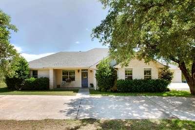 Granite Shoals Single Family Home For Sale: 127 W Stonecastle