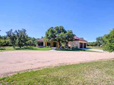 Burnet Single Family Home Pending-Taking Backups: 510 Cr 100