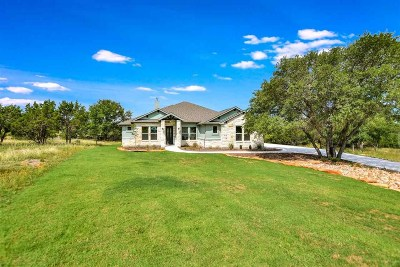 Burnet County Single Family Home For Sale: 113 Hidden View