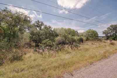 Granite Shoals Residential Lots & Land For Sale: Lots 395 & 396 Woodcrest Drive