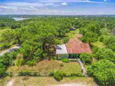 Marble Falls Farm & Ranch For Sale: 4300 Singleton