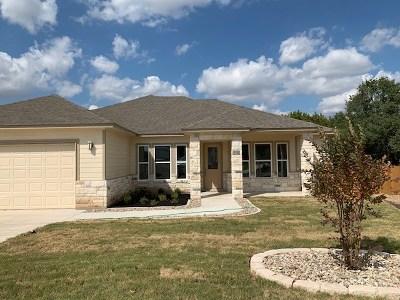 Marble Falls Single Family Home For Sale: 104 Ladera