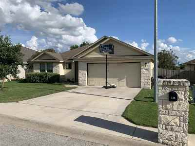 Burnet Single Family Home For Sale: 119 Cailin Ct