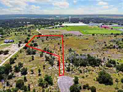 Marble Falls TX Residential Lots & Land For Sale: $75,000
