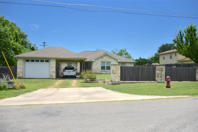 Spicewood Single Family Home For Sale: 149 Travis Ln.