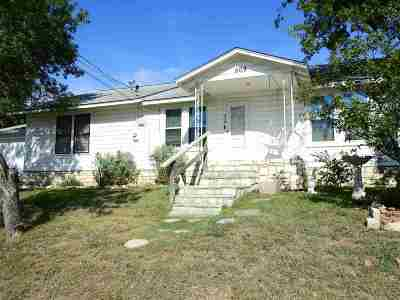Marble Falls Single Family Home For Sale: 509 Avenue F