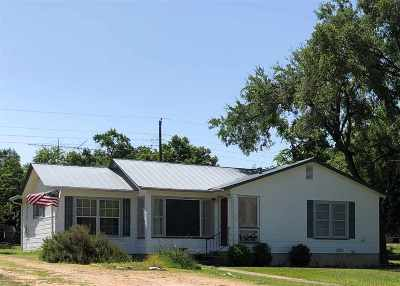 Marble Falls TX Single Family Home For Sale: $259,500