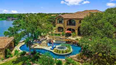 Marble Falls Single Family Home For Sale: 113 Wilderness Drive East