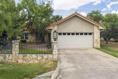 Horseshoe Bay Single Family Home For Sale: 1217-A Hi Circle North