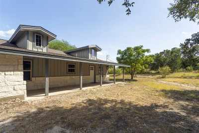 Marble Falls Single Family Home Pending-Taking Backups: 14825 S Fm 1174