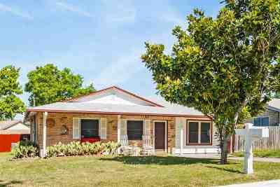 Burnet Single Family Home Pending-Taking Backups: 710 Lewis