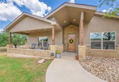 Burnet Single Family Home For Sale: 105 Honey Rock