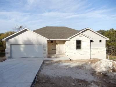 Horseshoe Bay Single Family Home For Sale: 1105 Ponderosa Bend