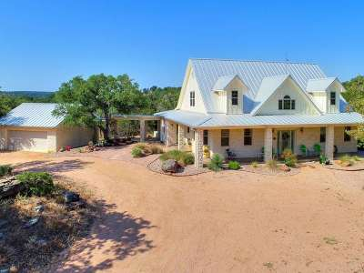 Burnet County Single Family Home For Sale: 350 Rocky Hollow Dr