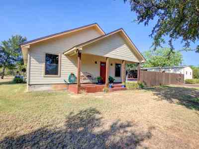 Granite Shoals Single Family Home For Sale: 119 W Hickory