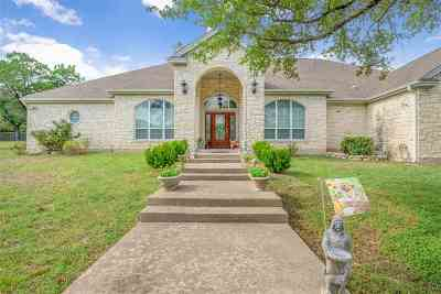 Marble Falls Single Family Home For Sale: 12100 Montana Springs