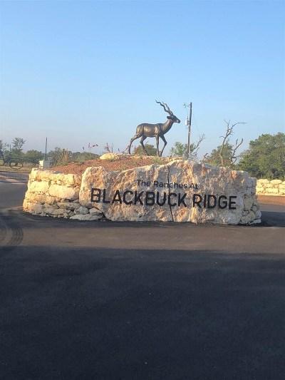 Bell County, Burnet County, Coryell County, Lampasas County, Mills County, Williamson County, San Saba County, Llano County Residential Lots & Land For Sale: Lot 36 Blackbuck Ridge Dr