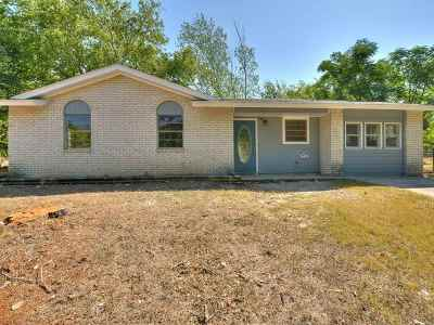Burnet TX Single Family Home For Sale: $160,000