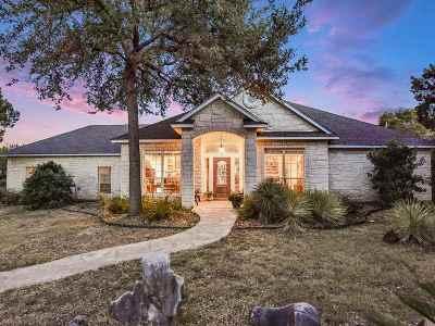 Marble Falls Single Family Home For Sale: 1651 Avenida Serena