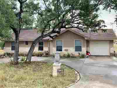 Burnet County Single Family Home For Sale: 3705 Mountain Dew