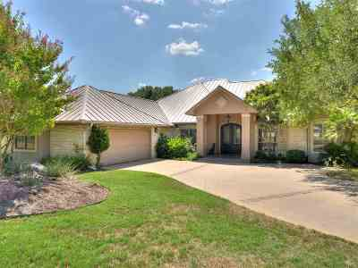 Horseshoe Bay TX Single Family Home For Sale: $875,000