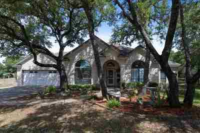 Burnet Single Family Home For Sale: 110 Wallace Riddell