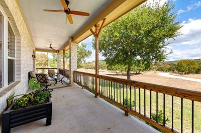 Burnet Single Family Home For Sale: 1405 County Road 140