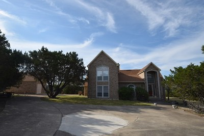 Hunt Single Family Home For Sale: 610 Ranch Rim