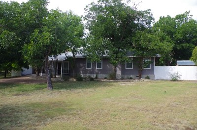 Kerrville Single Family Home For Sale: 1546 Glen Rd