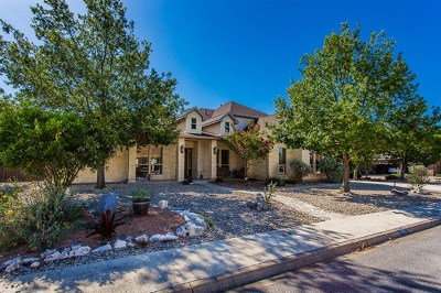 Kerrville Single Family Home For Sale: 2005 Crown Ridge Dr