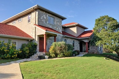 Kerrville Single Family Home For Sale: 929 Horizon Blvd