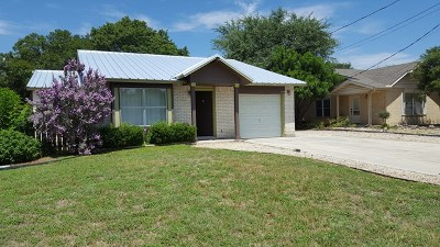 Kerrville Single Family Home For Sale: 104 Stephanie Dr